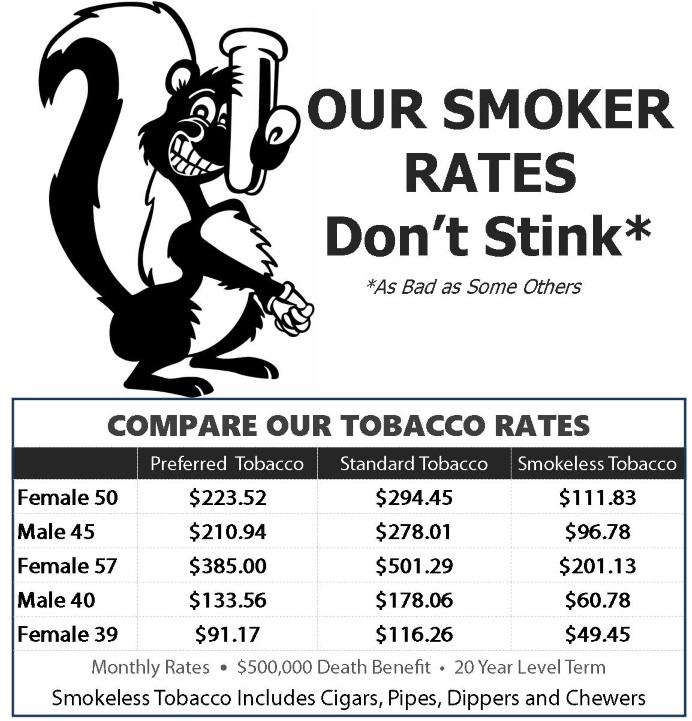 Smoker Rates 4.0917R
