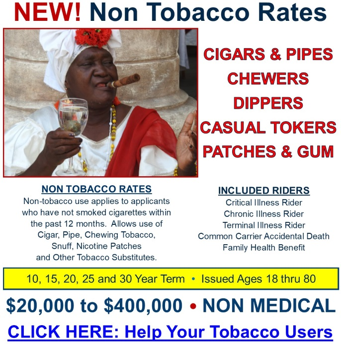 Non Smoker Rates-NEW 3.0518R
